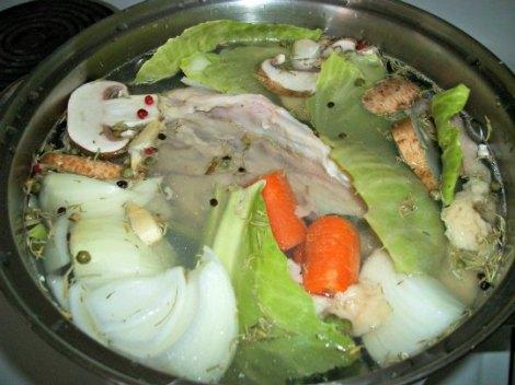 Chicken and Veggie Stock