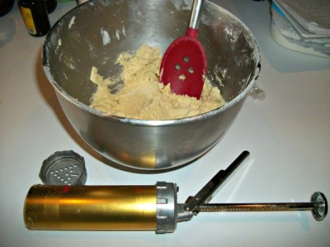 Making the Cookie Dough