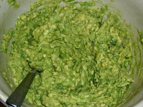 Hand Mashed Avocodo