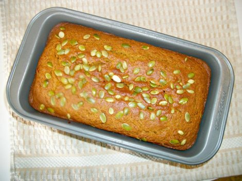 Butternut Squash Olive Oil Bread
