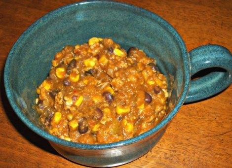 Southwestern Butternut Squash Chili