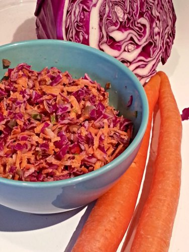 Spicy Pickle Slaw