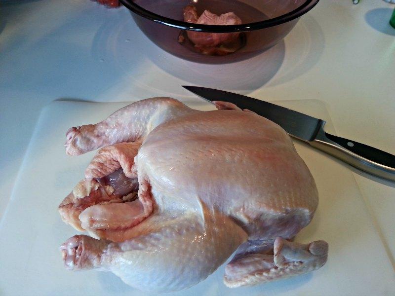 Whole Chicken for DeBoning