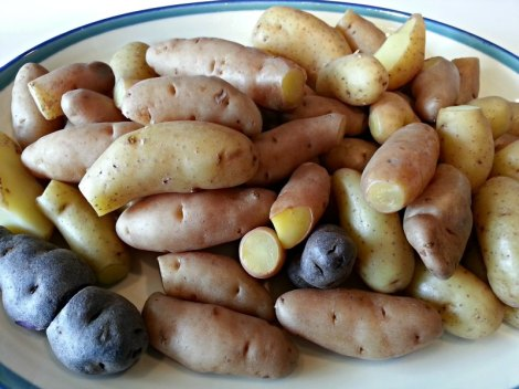 Boiled Fingerlings