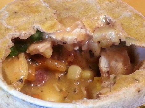 Closeup of yummy goodness