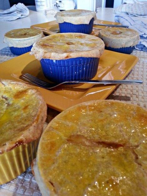 Cooling Pot pies