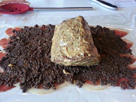 Mustard covered Tenderloin