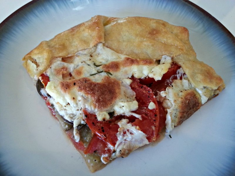 Slice of Eggplant & Tomato Galatte