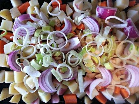 Hobo Dinner Veggies