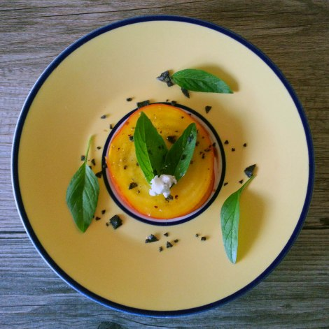 Plated Golden Beet Salad