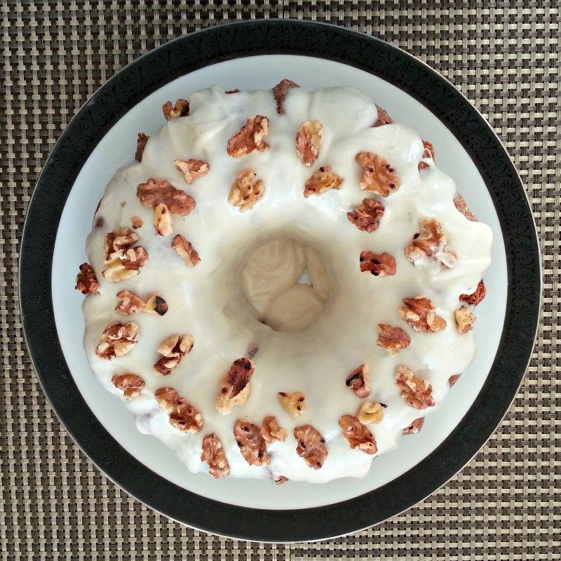 Bourbon Pumpkin Gingerbread Bundt Cake