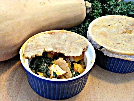 Fall chicken pot pies