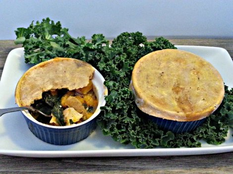 Two Autumn Chicken Pot Pies