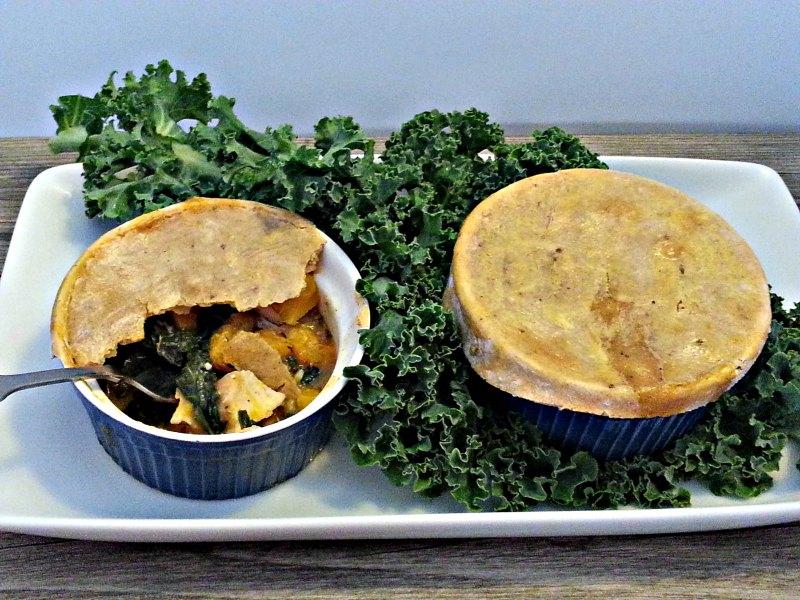 Two Autumn Chicken Pot Pies