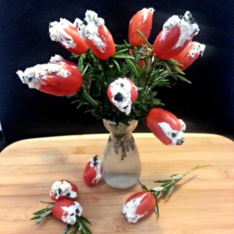 Cherry Tomato Flowers