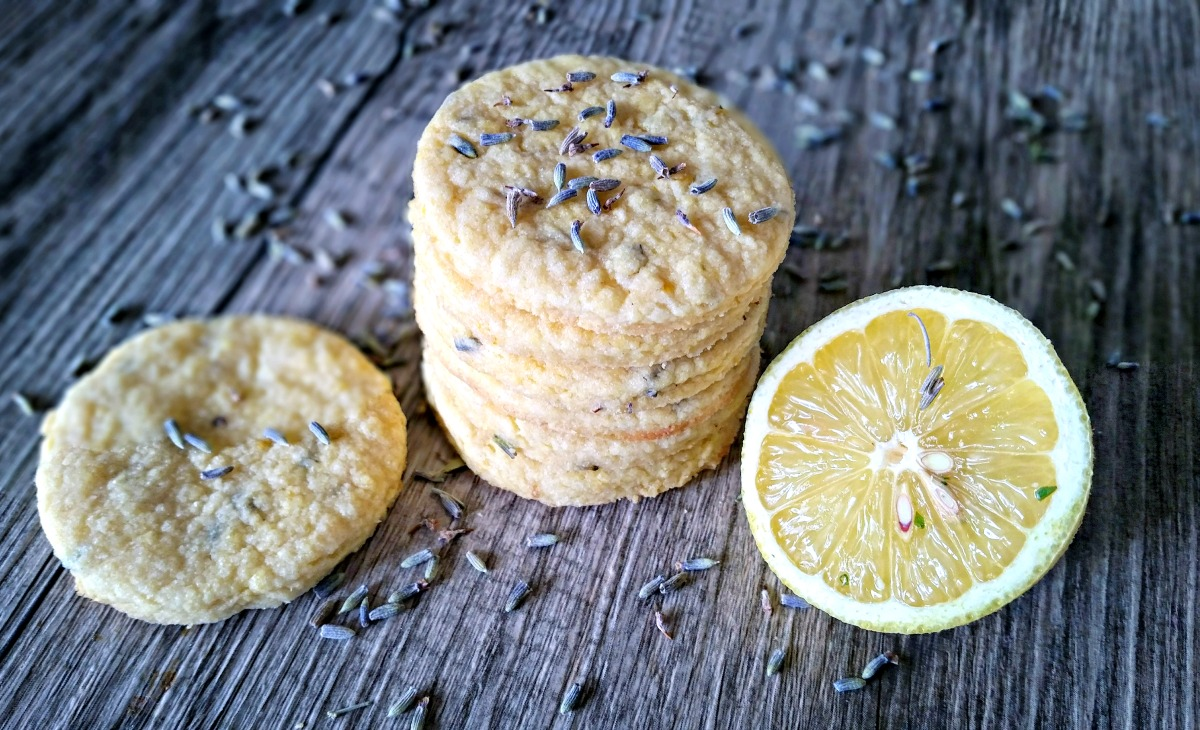 Lavender & Lemon Shortbread Cookies | Simply Sophisticated Cooking