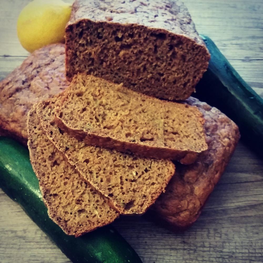 Ginger-Spiced Zucchini Bread