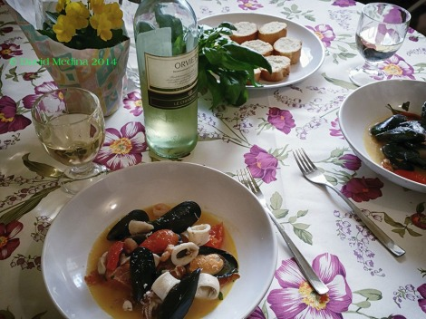 Seafood at home