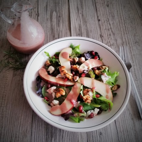 Pomegranate Rosemary Vinaigrette