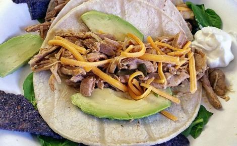 Slow Cooker Chicken Tacos