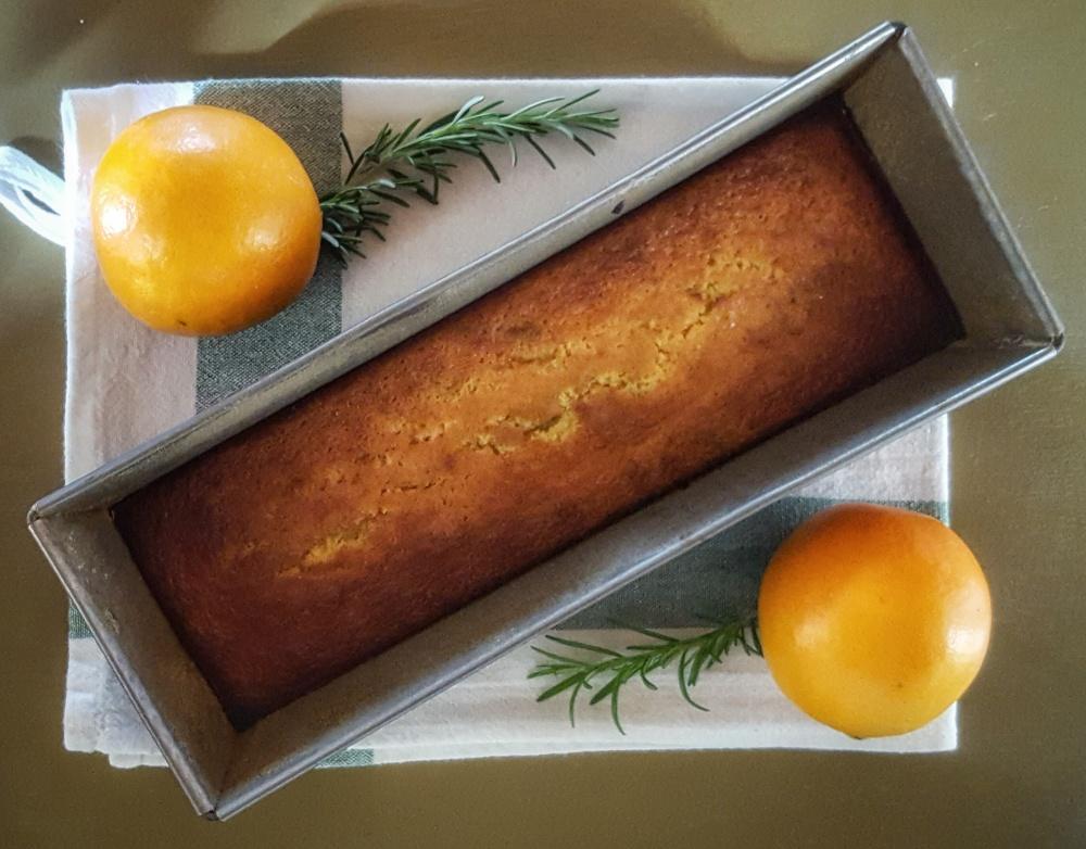 Orange Rosemary Olive Oil Bread