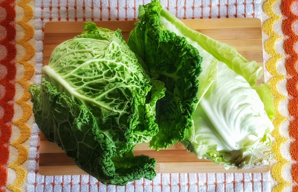 Heads of Irish Cabbage